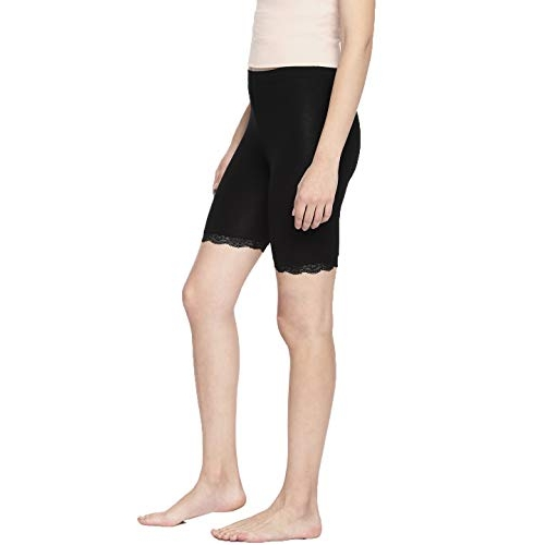 Espresso Black Comfortable Smooth Slip Shorts