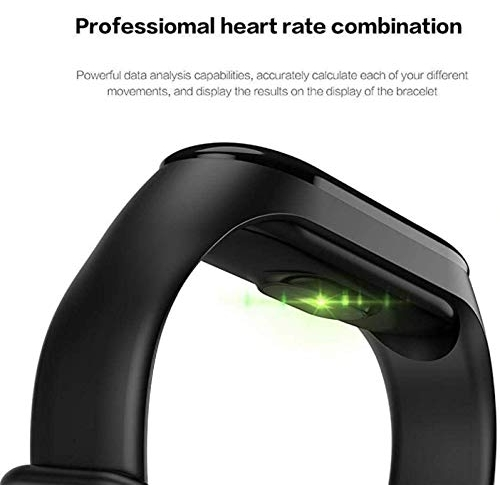 SHOPTOSHOP Smart Band Fitness Tracker Watch Heart Rate with Activity Tracker Waterproof