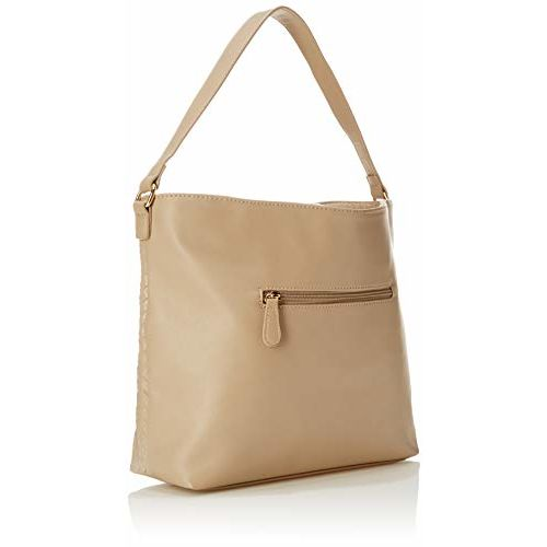 Lavie Umpila Beige Synthetic Hobo Bag