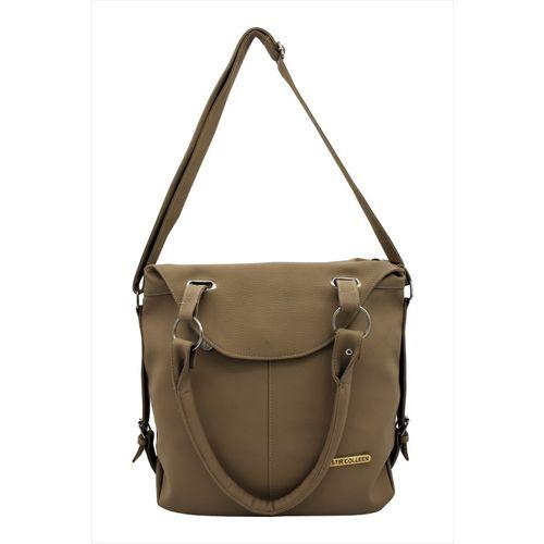 ASTIR COLLEEN Beige Polyurethane Hobo Bag
