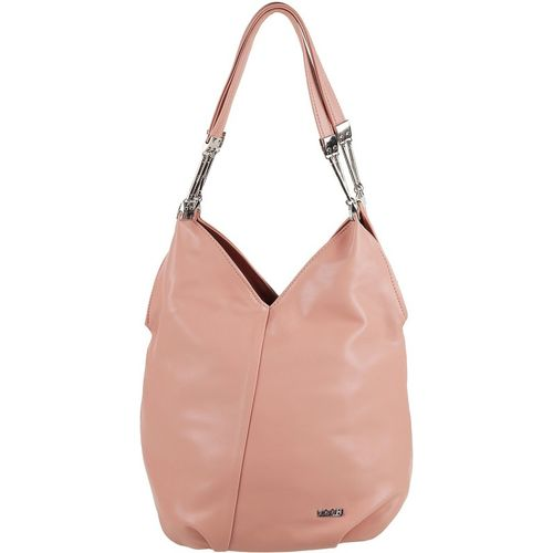 Mochi  Pink Artificial Leather Hobo Bag