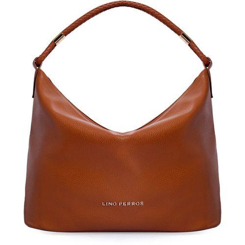 Lino Perros Tan leather Hobo Bag