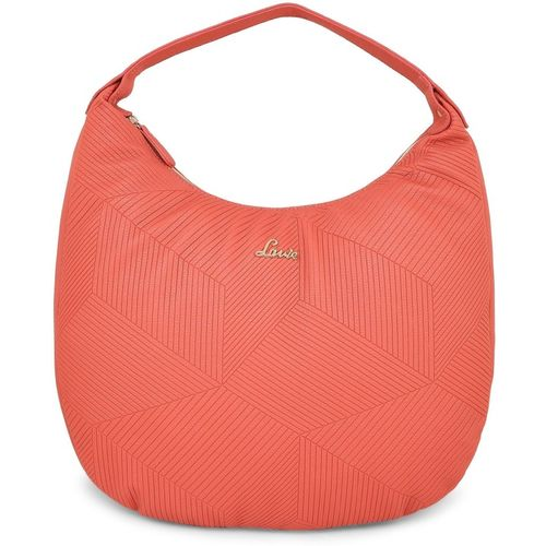 Lavie Orange Solid Hobo Bag