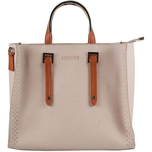 Mochi Khaki Artificial Leather Hobo Bag