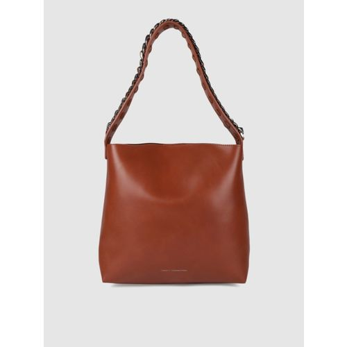 French Connection Brown Hobo Bag