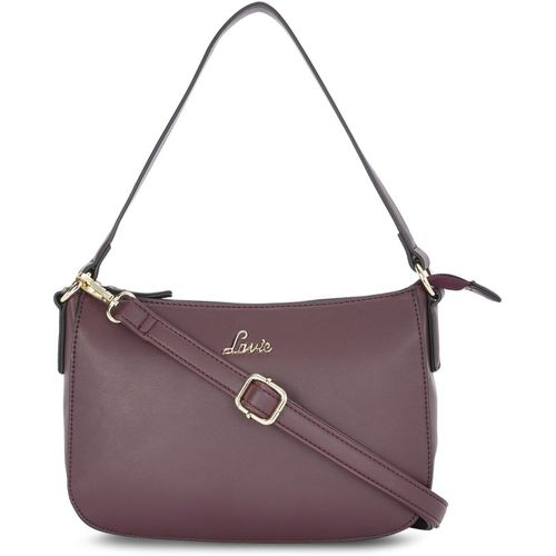 Lavie Maroon Hobo Bag