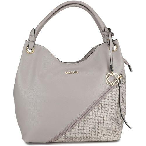 Cara Mia Grey Hobo Bag