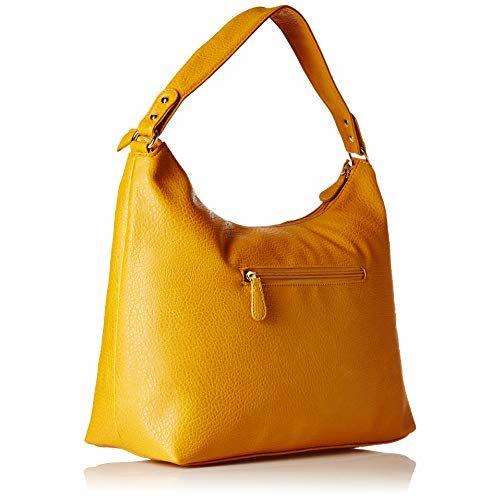 Lavie Koko Mustard Synthetic Hobo Bag