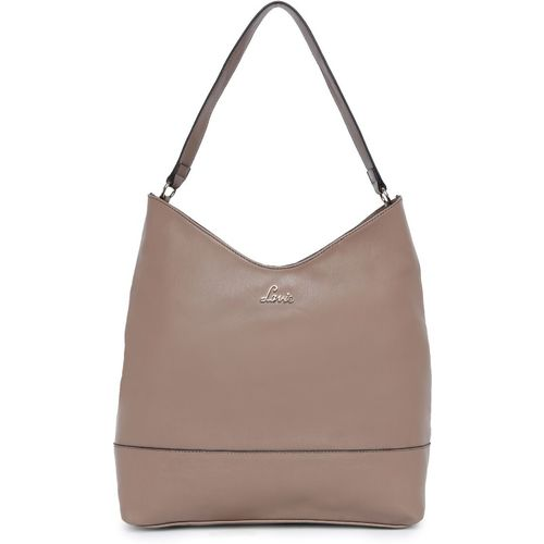 Lavie Brown Polyurethane Hobo Bag