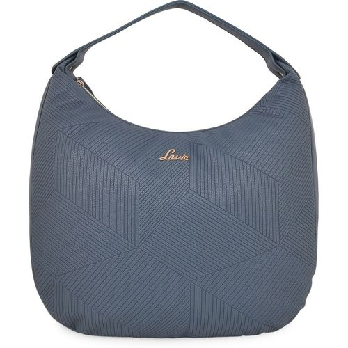 Lavie Blue Artificial Leather Hobo Bag