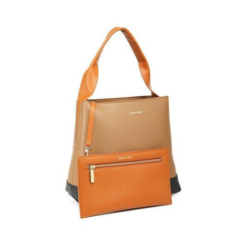 Diana Korr Textured Hobo Bag