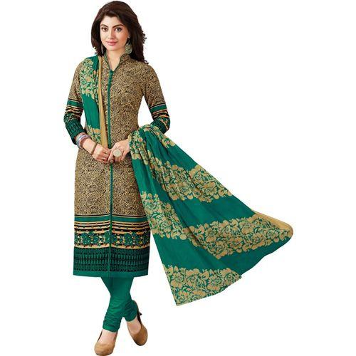 Reya Cotton Blend Graphic Print Salwar Suit