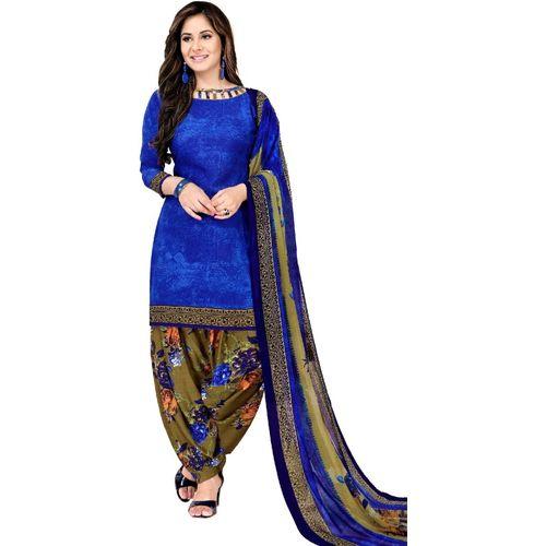 Fashion Valley Crepe Printed Salwar Suit