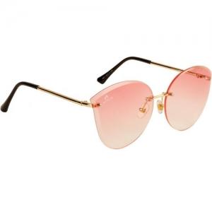Aislin Cat-eye, Butterfly Sunglasses(Pink)