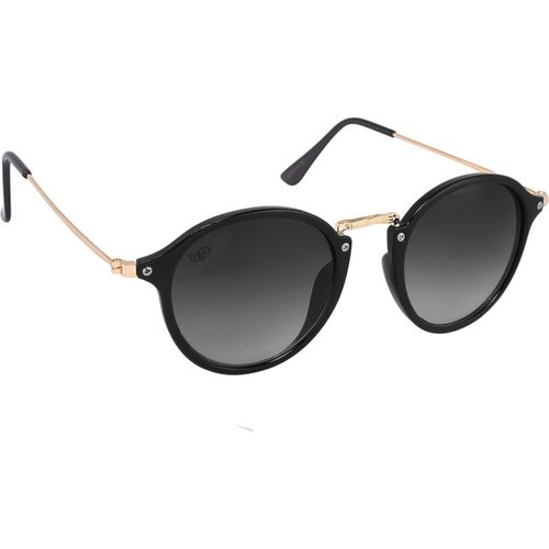 PIRASO Round Sunglasses(Black)