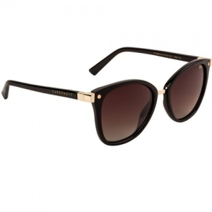 Farenheit Oval Sunglasses(Brown)