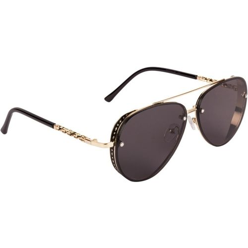 Voyage Aviator Sunglasses(Black)