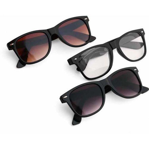 HIPPON Wayfarer Sunglasses(Violet)