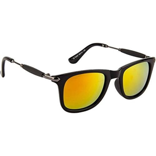 DEIXELS Rectangular Sunglasses(Yellow, Orange)