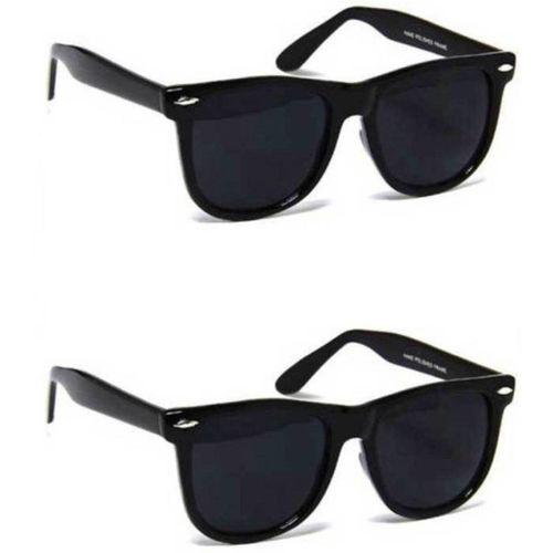 shadz Wayfarer Sunglasses(Black)