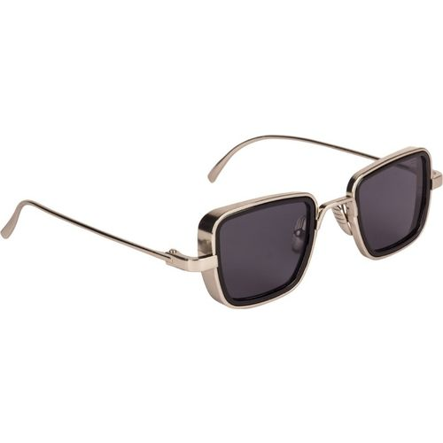 Farenheit Rectangular Sunglasses(Grey)