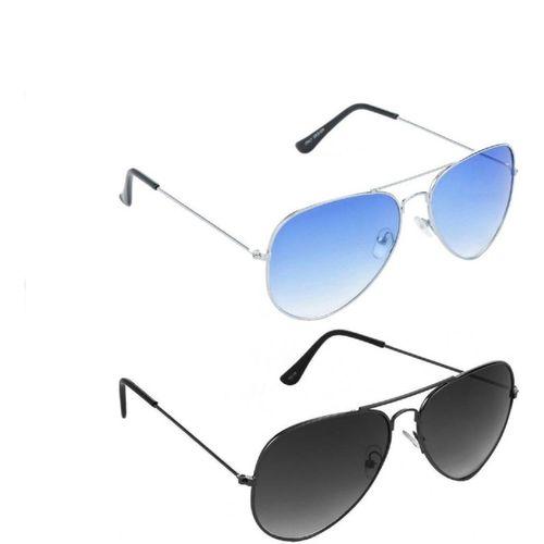 MAXX Aviator Sunglasses(Multicolor)