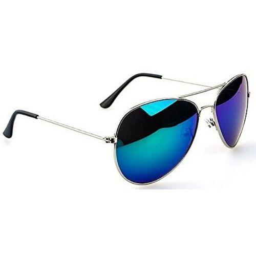 hipe Aviator Sunglasses(Blue)