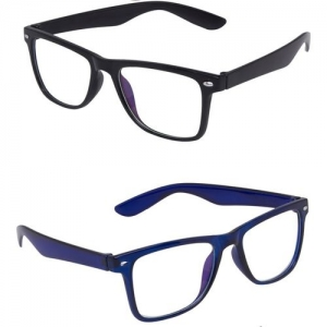 Vast Spectacle Sunglasses(Black, Violet, Clear)