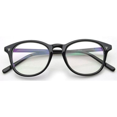 Azmani Round Sunglasses(Clear)