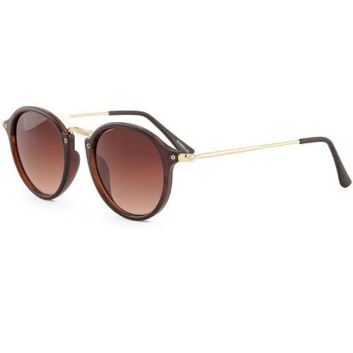 shadz Round Sunglasses(Brown)