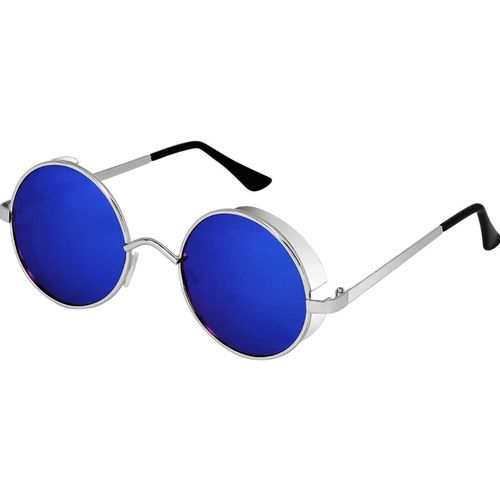 Rich Club Round Sunglasses(Blue)
