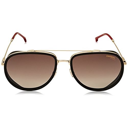 Carrera Gradient Aviator Unisex Sunglasses - (CARRERA 166/S Y11 59HA|59|Brown Color)