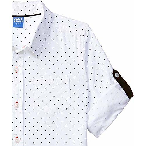 Amazon Brand - Jam & Honey Boy's Tribal Regular fit Cotton Shirt (SS19SRT352_White 4 11-12 Years)