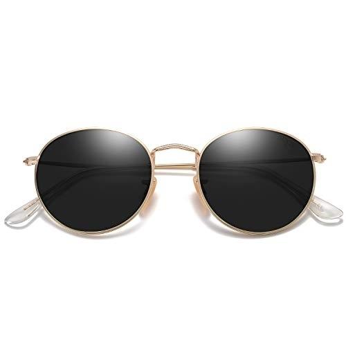 SojoS SJ1014 3447 Unisex Glasses Gold Frame/G15 Lens  Sunglasses
