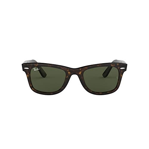 Ray-Ban UV protected Square Unisex Sunglasses (0RB2140|50.0 mm|Green)