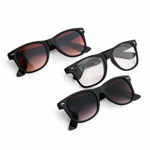Royal Son Multicolour Clear Stylish wayfarer Sunglasses