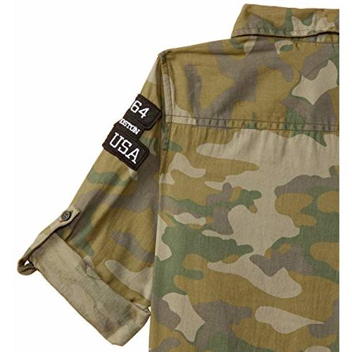 Max Boy's Plain Regular fit Shirt (S20DSH08MULTI_Multi 7-8Y)