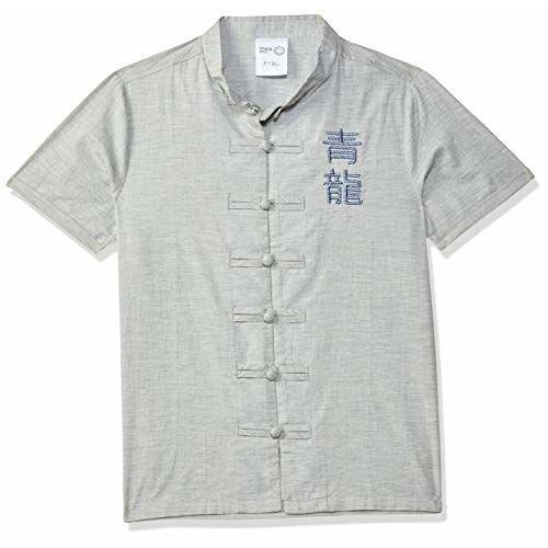 Max Boy's Plain Regular fit Shirt (S20DSH02AGREY_Grey 3-4Y)