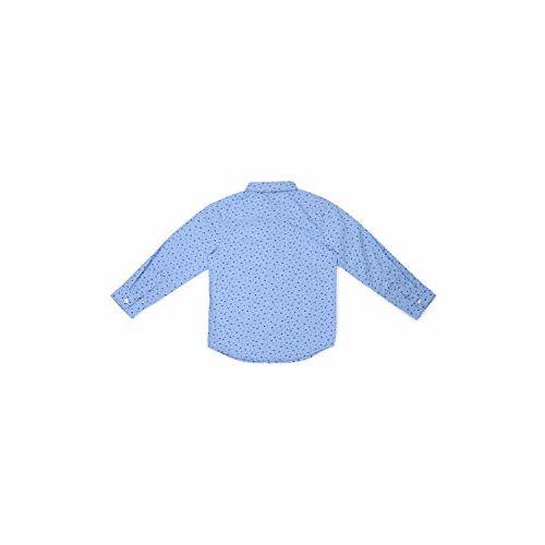 Allen Solly Boy's Plain Regular fit Shirt (ABSF31901879_Blue 15-16y)