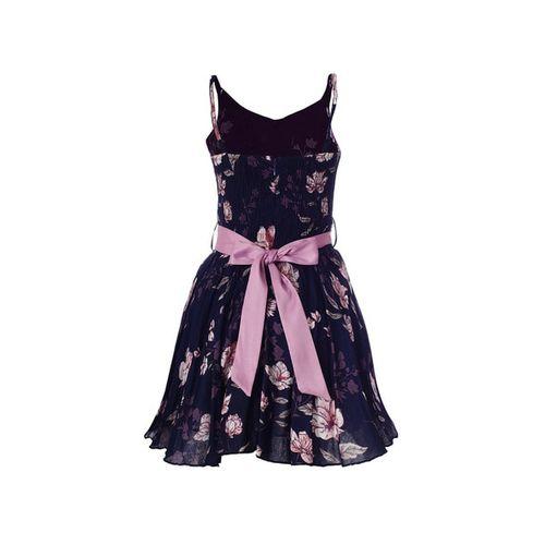 NAUGHTY NINOS Floral Print A-line Dress