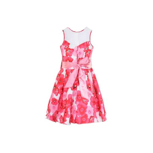 NAUGHTY NINOS Floral Print Fit & Flare Dress