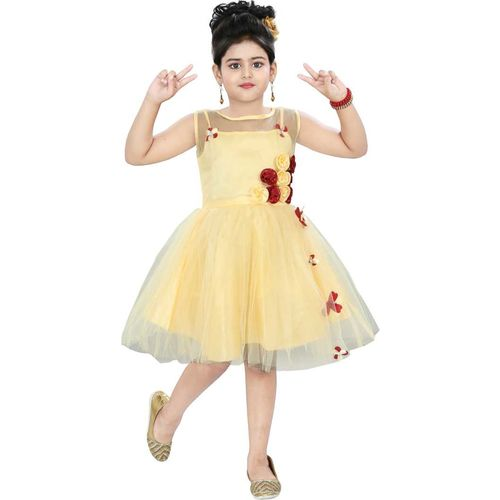 Clobay floral party dress for girls