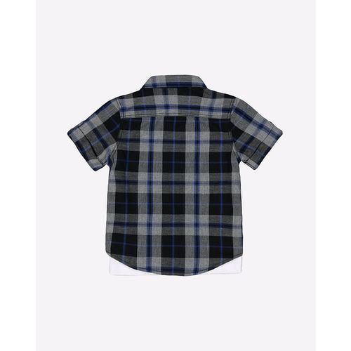 Mothercare Checked Shirt with T-shirt