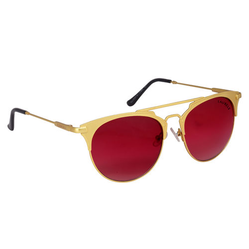 Laurels Robot Men Red Color Wayfarer Sunglass (LS-RBT-100606)