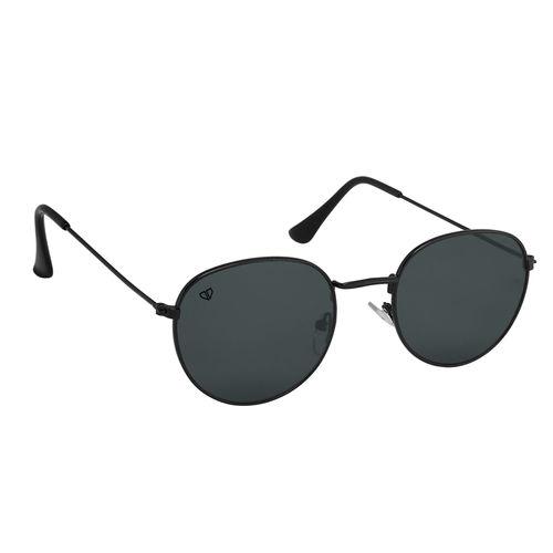 Walrus Roy Men & Women UV Protection Black Lens Sunglass