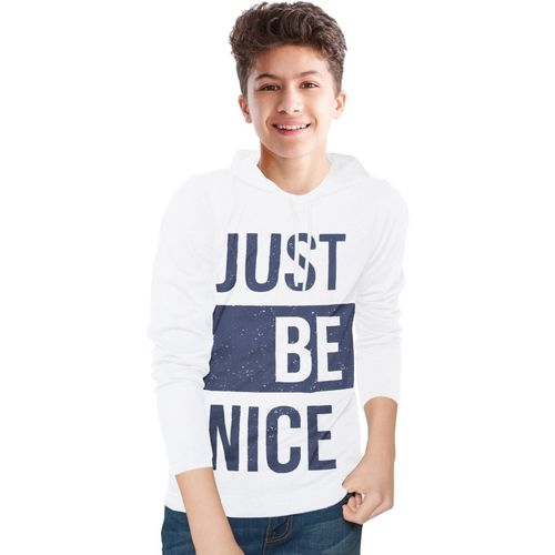 Tripr Boys Printed Pure Cotton T Shirt(White, Pack of 1)