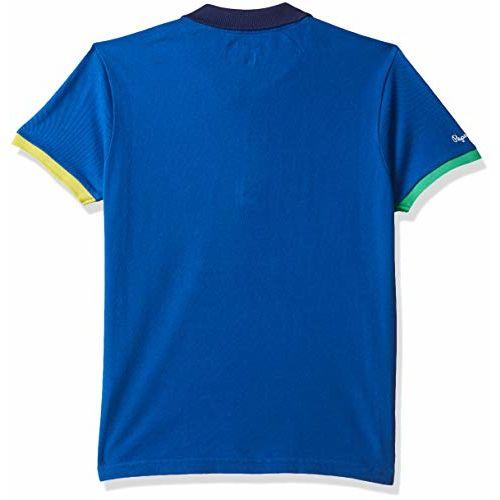 Pepe Jeans Boy's Plain Regular fit T-Shirt (PB540533_Royal Blue 6-7 Years)