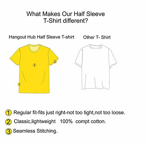 Hangout Hub Family Tshirt for Son- Boy's Kids Cotton Printed Regular Fit T-Shirts (Pack of 1) Brother No 1 (White ;Boys 6-8 Years)