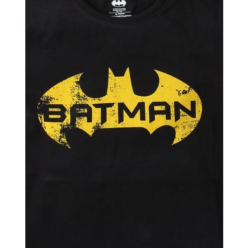 WARNER BROTHERS Batman Graphic Print Crew-Neck T-shirt