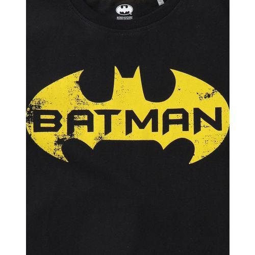 WARNER BROTHERS Batman Print Round-Neck T-shirt